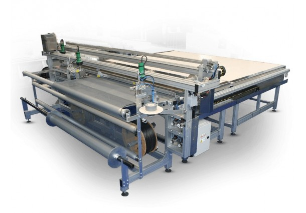 SMRE SM-520-ZA Automatic Welding and Cutting machine of Insect Screens