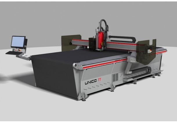 Machine de découpe et fraisage CNC avec Convoyeur PROTEK UNICO TT
