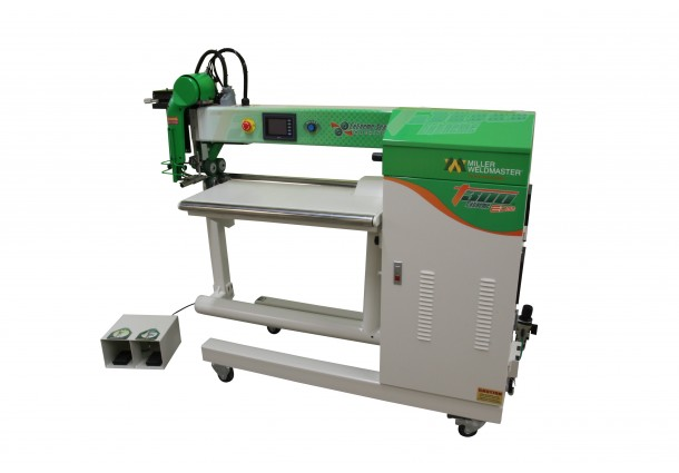 Miller Weldmaster T300 Extreme Edge Hot Wedge Welding Machine for Sign