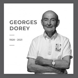 Georges DOREY, founder of the company DOREY has passed away